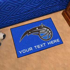 Orlando Magic Personalized Starter Mat