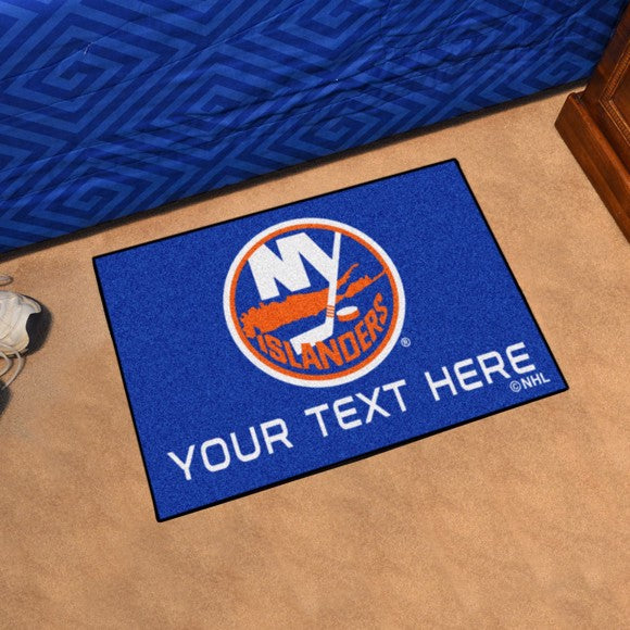 New York Islanders Personalized Starter Mat