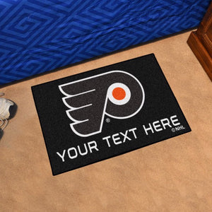Philadelphia Flyers Personalized Starter Mat