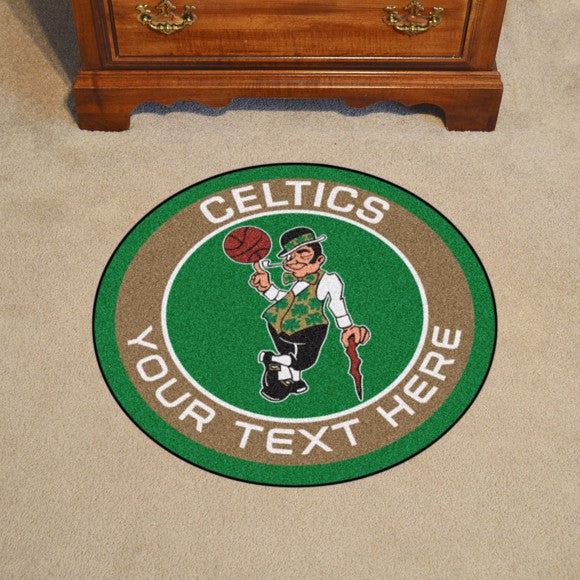 Boston Celtics Personalized Roundel Mat