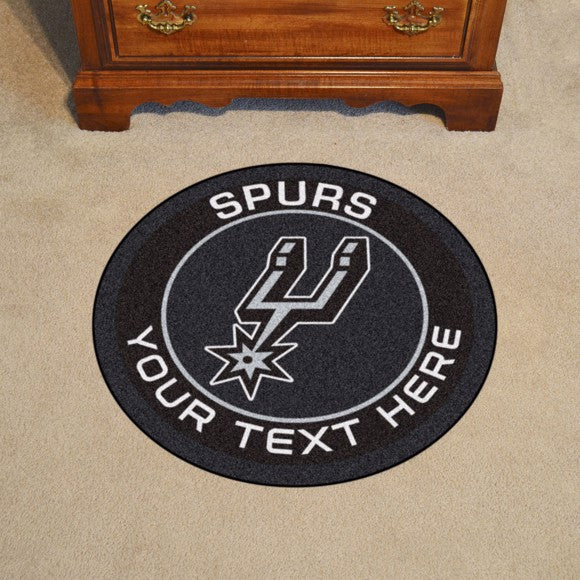 San Antonio Spurs Personalized Roundel Mat