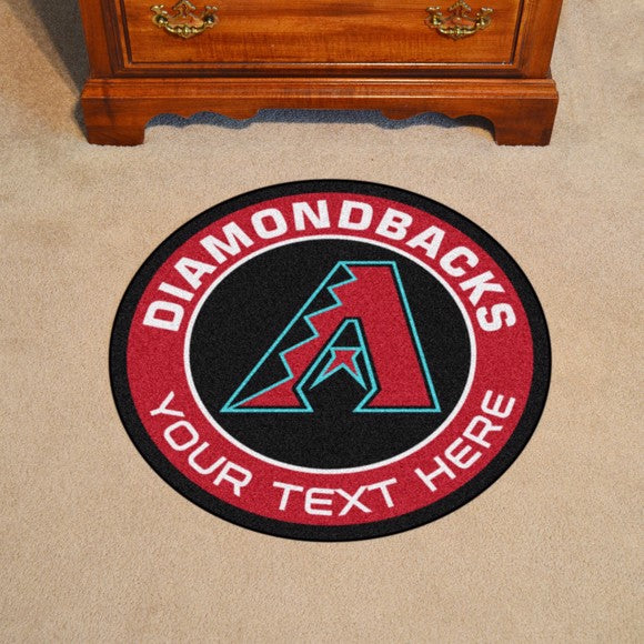 Arizona Diamondbacks Personalized Roundel Mat 27