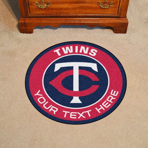 Minnesota Twins Personalized Roundel Mat