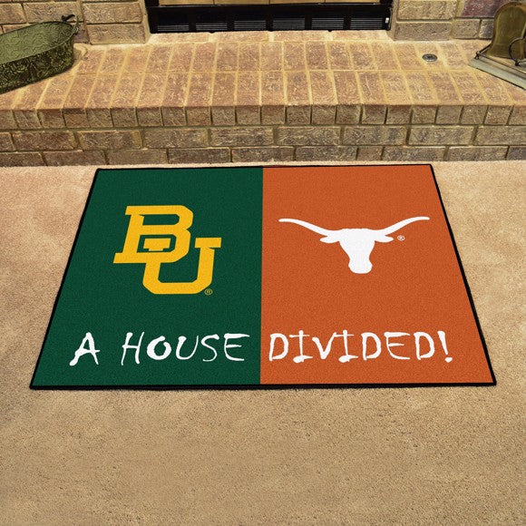 "House Divided - Baylor / Texas 33.75"" x 42.5"""