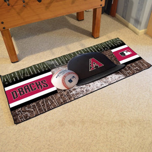 "MLB - Arizona Diamondbacks Baseball Runner 30"" x 72"""
