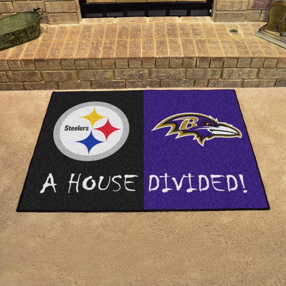 NFL House Divided - Steelers / Ravens 33.75