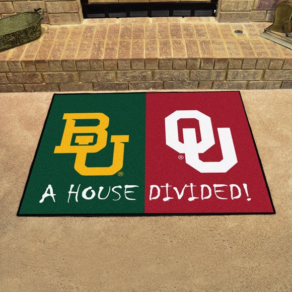 "House Divided - Baylor / Oklahoma 33.75"" x 42.5"""