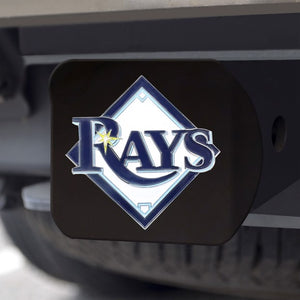 "MLB - Tampa Bay Rays Hitch Cover 3.4"" x 4"""