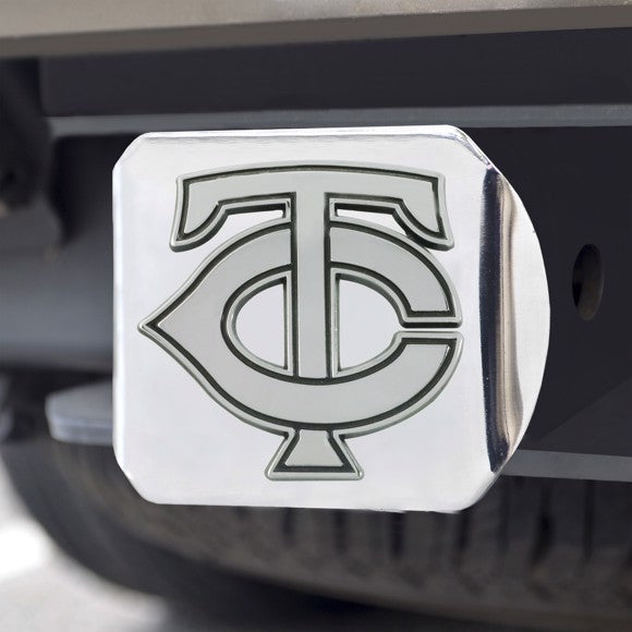 "MLB - Minnesota Twins Hitch Cover 3.4"" x 4"""