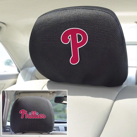 "MLB - Philadelphia Phillies Headrest Cover 10"" x 13"""