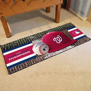 "MLB - Washington Nationals 2019 World Series Champions Runner 30"" x 72"""