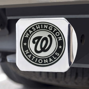 "MLB - Washington Nationals Hitch Cover 3.4"" x 4"""