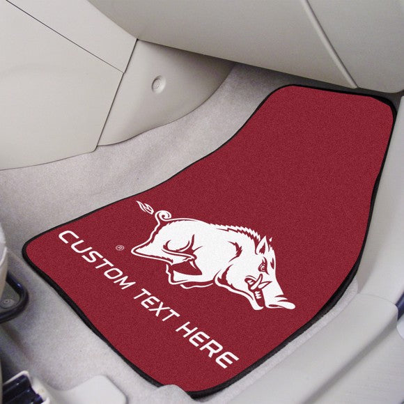 Arkansas Personalized Carpet Car Mat Set 17