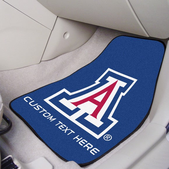 Arizona Personalized Carpet Car Mat Set 17