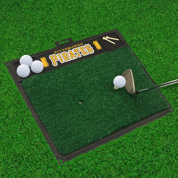"MLB - Pittsburgh Pirates Golf Hitting Mat 20"" x 17"""