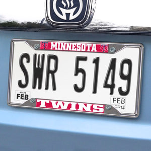 "MLB - Minnesota Twins License Plate Frame 6.25"" x 12.25"""