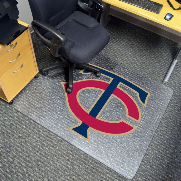 "MLB - Minnesota Twins Chair Mat 45"" x 53"""