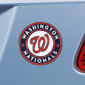 "MLB - Washington Nationals Emblem - Color 3"" x 3.2"""