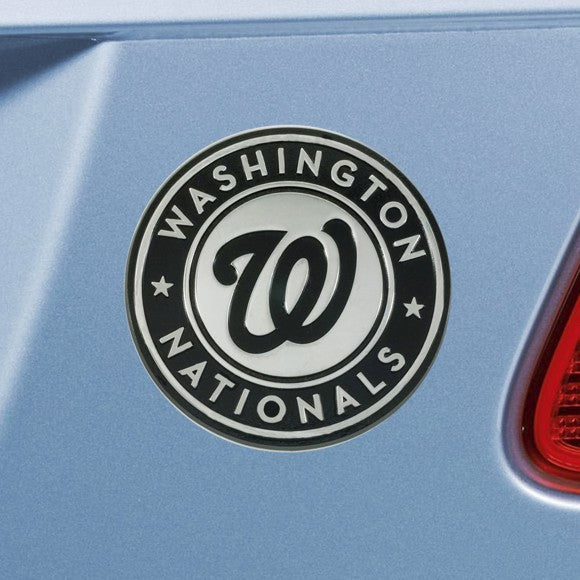 MLB - Washington Nationals Emblem - Chrome 3