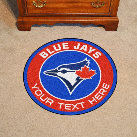 Toronto Blue Jays Personalized Roundel Mat