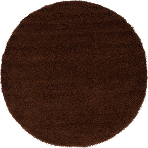 Chocolate Brown Shag Rug