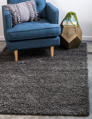 Graphite Gray Shag Rug