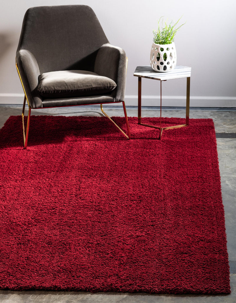 Red Studio Shag Rug