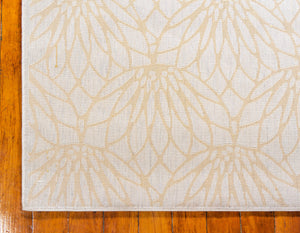 White Gold Luxury Area Rug