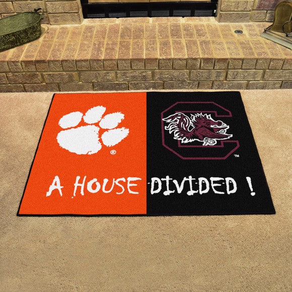 "House Divided - Clemson / South Carolina 33.75"" x 42.5"""
