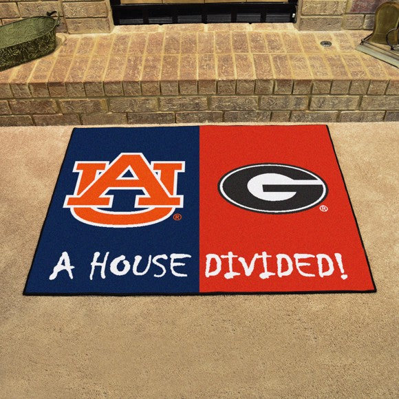 "House Divided - Auburn / Georgia 33.75"" x 42.5"""