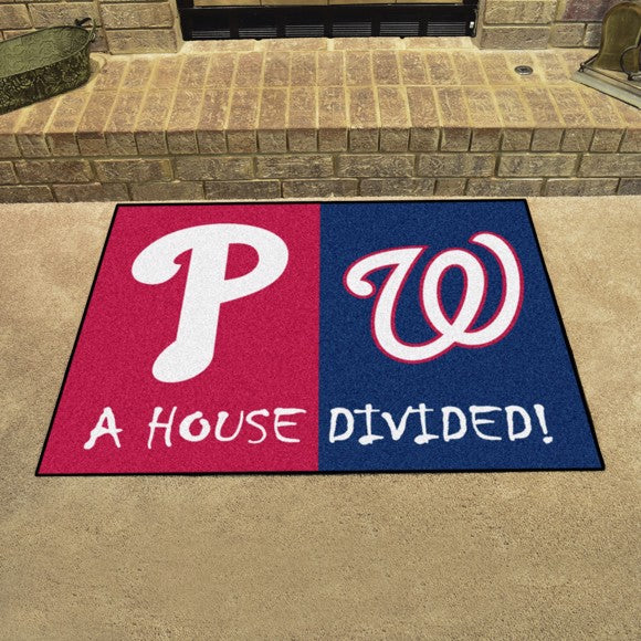 MLB House Divided - Phillies / Nationals 33.75