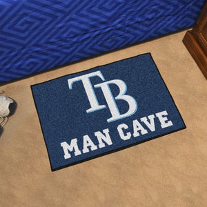 "MLB - Tampa Bay Rays Man Cave Starter 19"" x 30"""