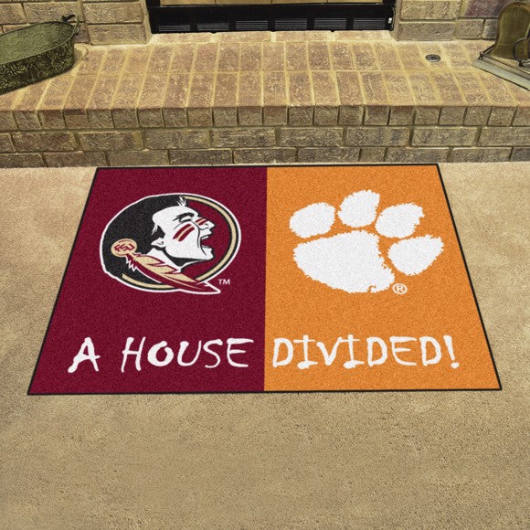 "House Divided - Florida State / Clemson 33.75"" x 42.5"""