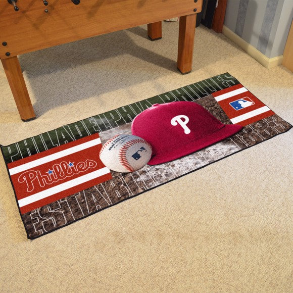 "MLB - Philadelphia Phillies Baseball Runner 30"" x 72"""