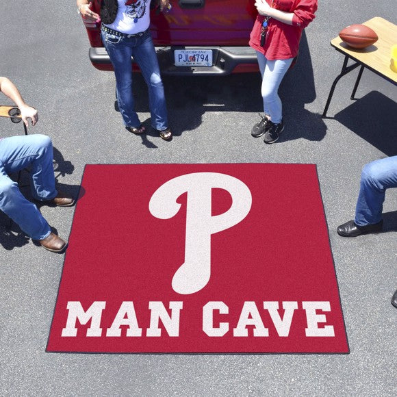 "MLB - Philadelphia Phillies Man Cave Tailgater 59.5"" x 71"""