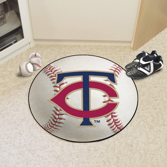 MLB - Minnesota Twins Baseball Mat 27""