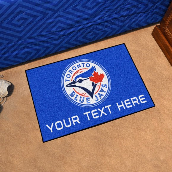 Toronto Blue Jays Personalized Starter Mat
