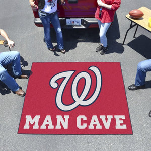 "MLB - Washington Nationals Man Cave Tailgater 59.5"" x 71"""