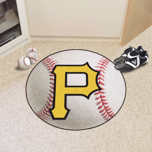 MLB - Pittsburgh Pirates Baseball Mat 27""