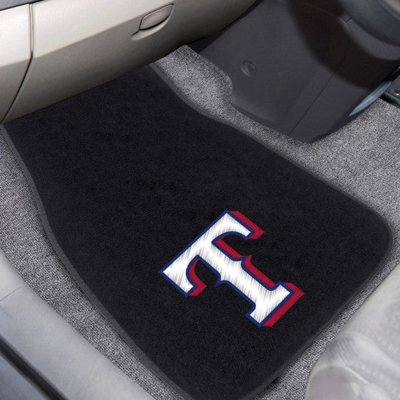 MLB - Texas Rangers Embroidered Car Mat Set 17