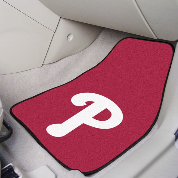 "MLB - Philadelphia Phillies Carpet Car Mat Set 17"" x 27"""
