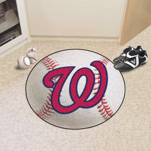 MLB - Washington Nationals Baseball Mat 27""