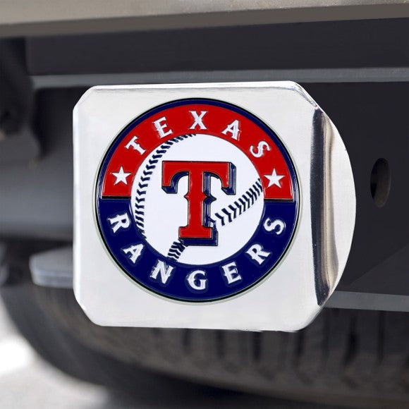 MLB - Texas Rangers Hitch Cover 3.4