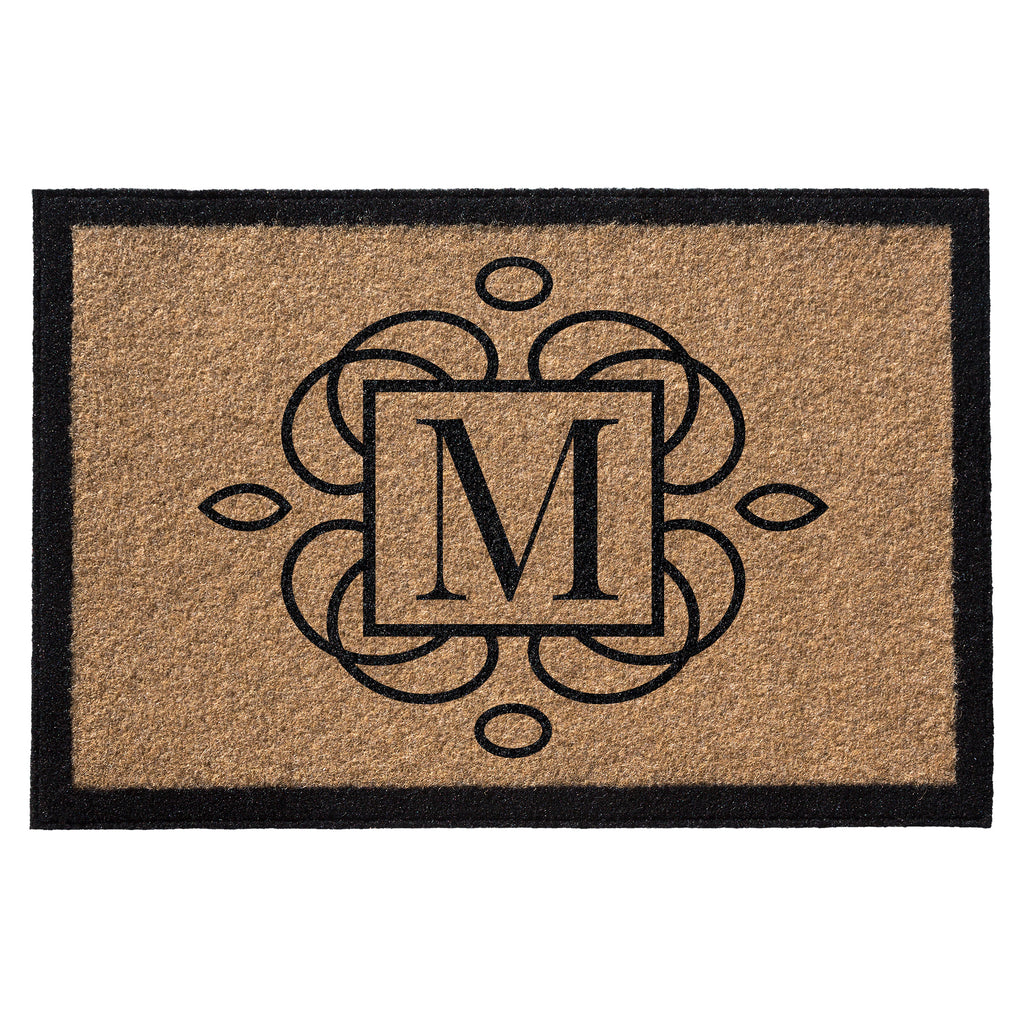 Premium Welcome M Squared Mat Gold