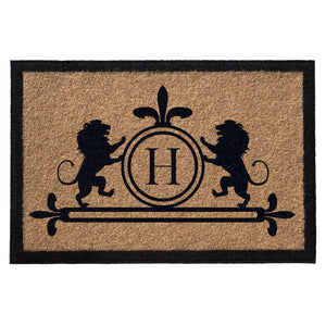 Premium Welcome Luxury Lion Mat Gold