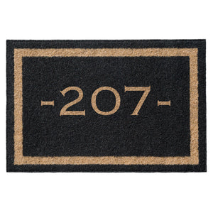 Premium Welcome Home Mat Black