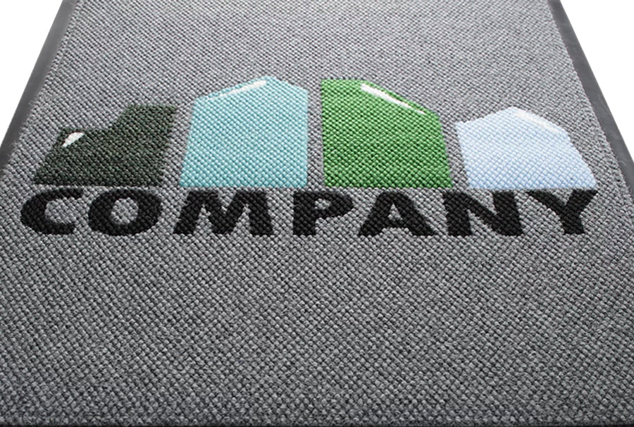 Berber Inlay Logo Mats