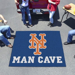 "MLB - New York Mets Man Cave Tailgater 59.5"" x 71"""