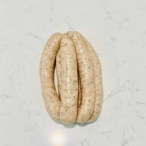 Chicken, Thyme, & Ginger Sausages | 500g