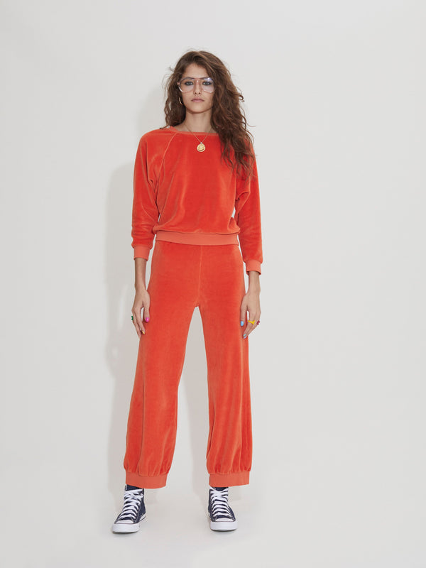 High Waist Harem Pants - Clementine
